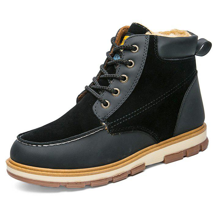 Outfits Stylish Lace-up Brushed Men Ankle Boots