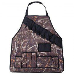 Multifunctional Apron for Outdoor Camping Grilling BBQ Accessory  -
