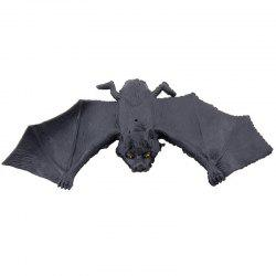 Rubber Simulation Bat Trick Toy for Halloween Party -