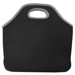 Black Diving Fabric Lunch Insulation Bag -