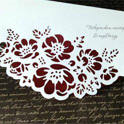 Flower Carbon Steel Cutting Dies for Card Decoration -