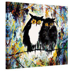 Abstract Animal Pattern Canvas Art Oil Paiting for Home Decoration -