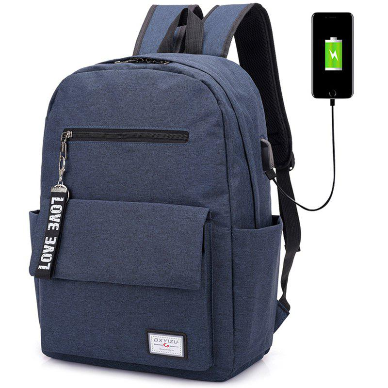 Discount Stylish Fashionable Canvas Backpack for Work School