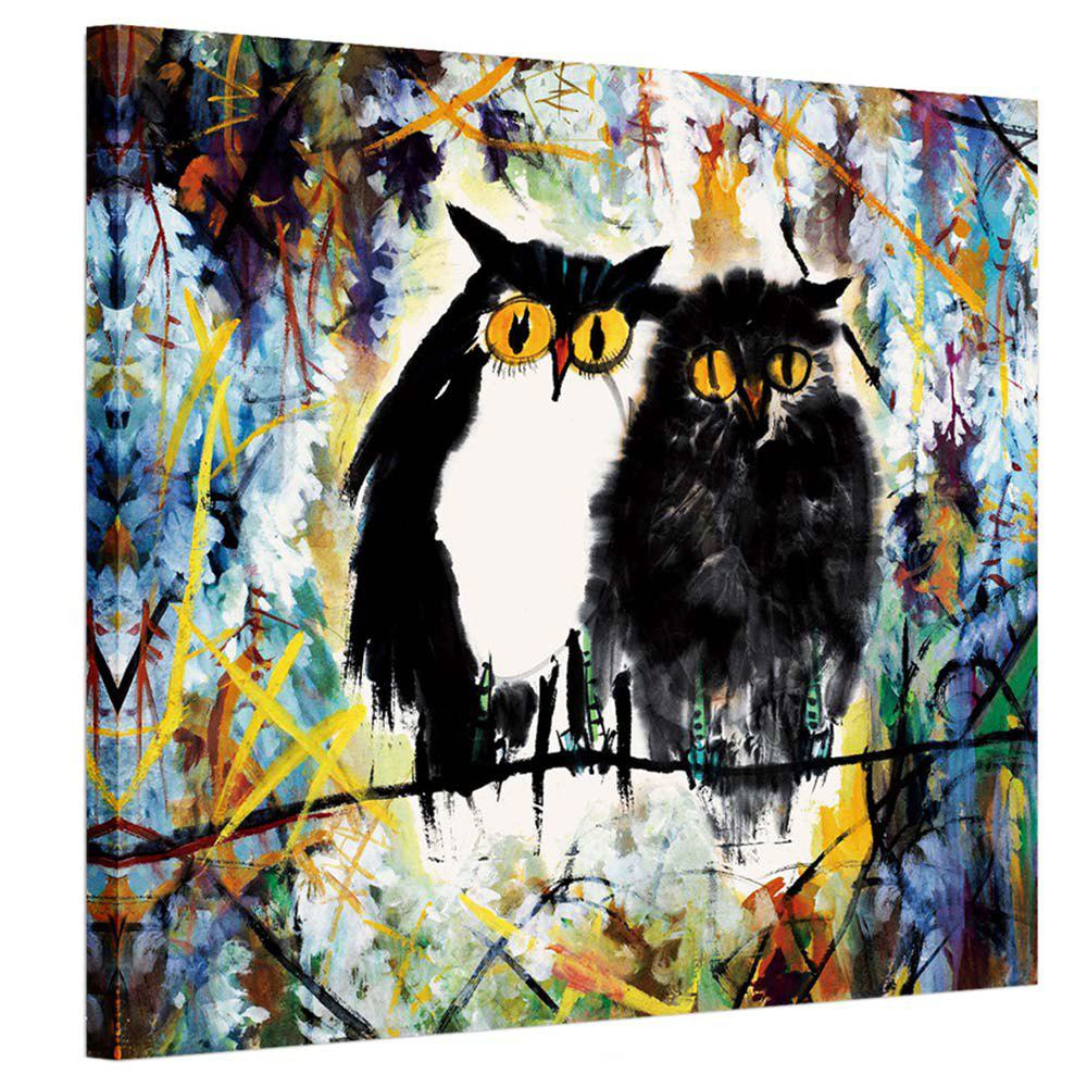Cheap Abstract Animal Pattern Canvas Art Oil Paiting for Home Decoration
