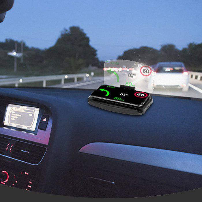 Latest Car Mobile Phone Navigation Frame Wireless Charger Head-up Display