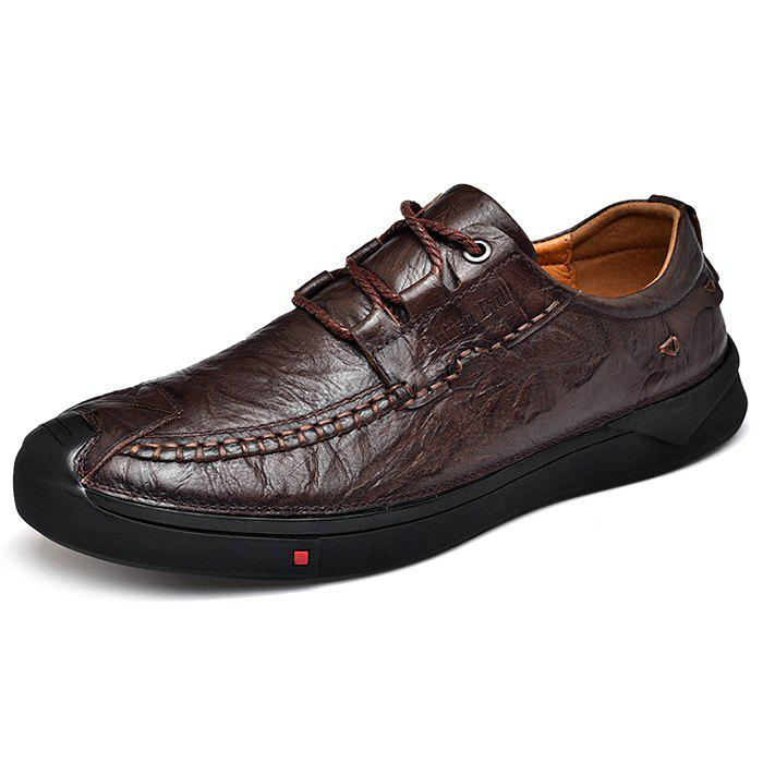 Affordable Stylish Business Anti-slip Leather Casual Shoes for Men