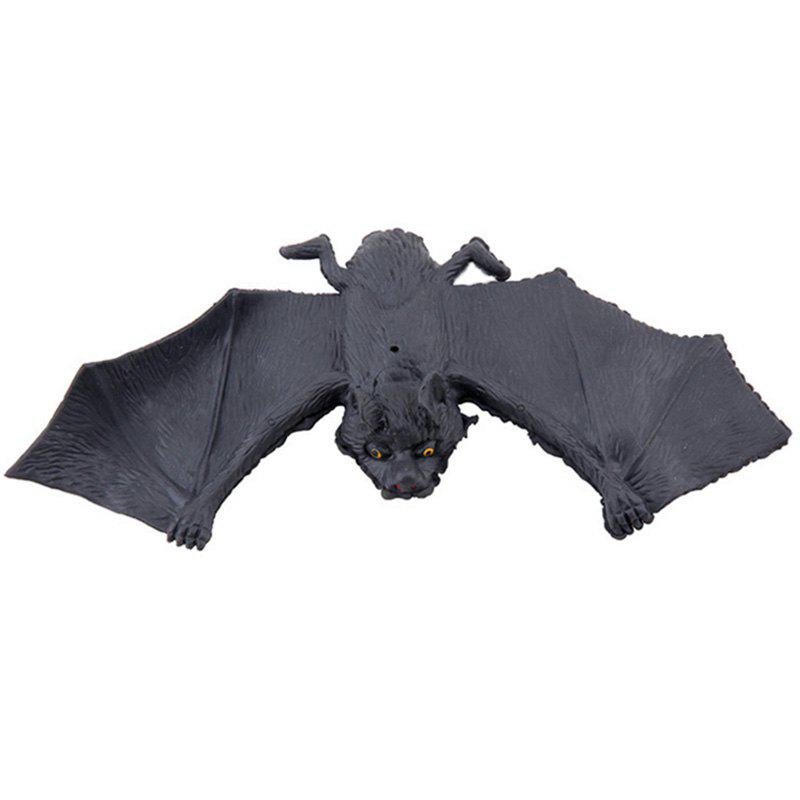 Discount Rubber Simulation Bat Trick Toy for Halloween Party