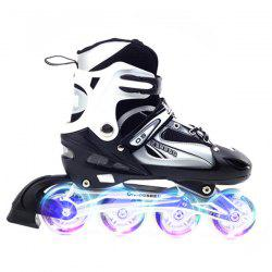 Trendy Pair of Adjustable Cool Roller Skates -