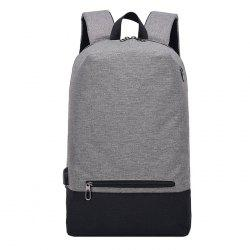 Polyester Casual Student Backpack -