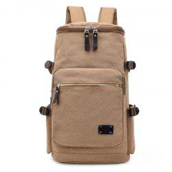 Wearable Canvas Large Capacity Backpack -