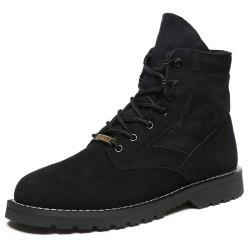 Fashion Lace-up High-top Men Boots -