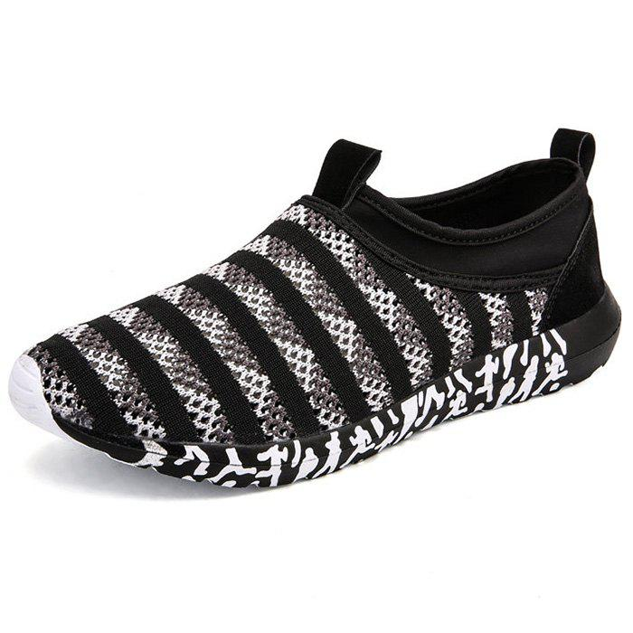 Best Stripe Pattern Air Mesh Sneakers for Men