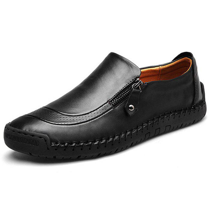 Outfit Business Casual Breathable Lazy Leather Shoes for Man