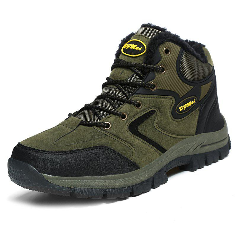 Latest Outdoor Hiking Wear-resistant Brushed Men Snow Boots