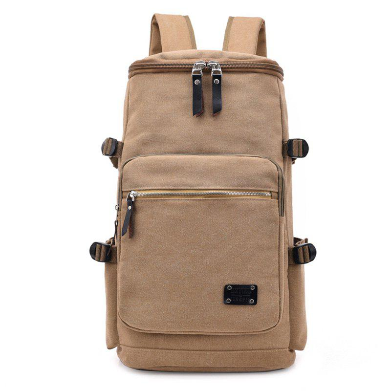 Outfit Wearable Canvas Large Capacity Backpack