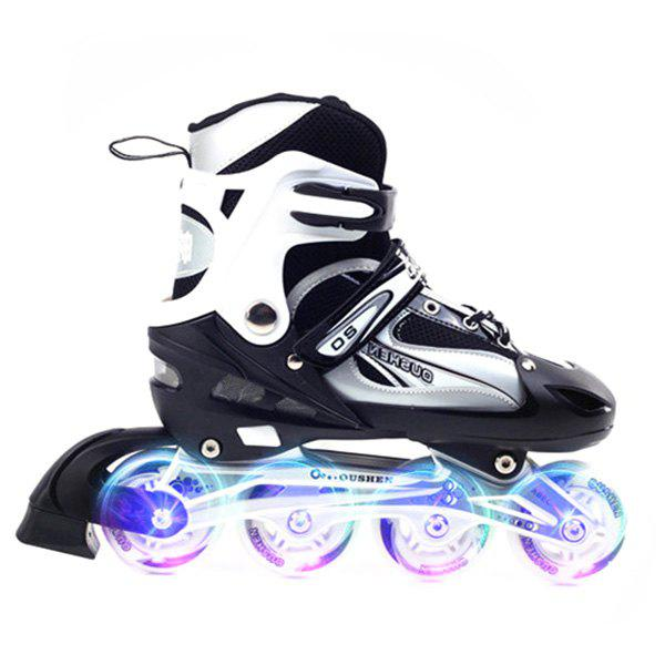 Unique Trendy Pair of Adjustable Cool Roller Skates