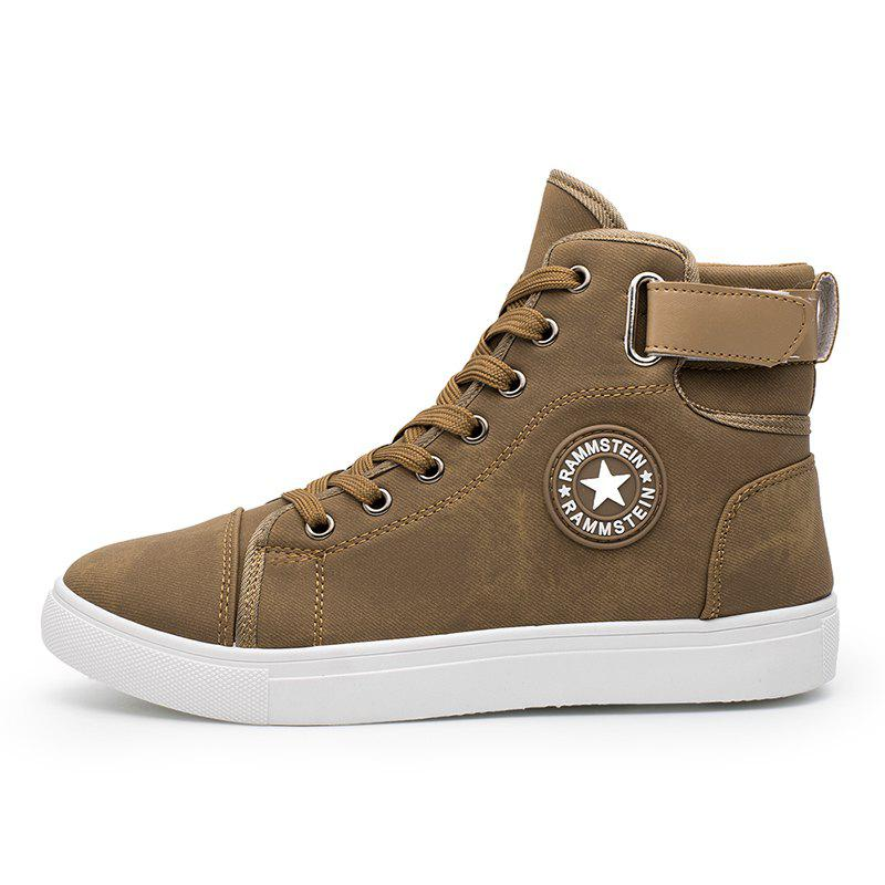 Affordable Male Fashion Sports Shoes Lightweight High Sneakers