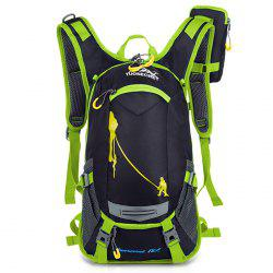 HUWAIJIANFENG Fashion Outdoor Breathable Water-resistant Cycling Backpack -