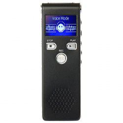 SK - 015 Noise Reduction Digital Voice Recorder Phone-call Recording Music Player with LCD Screen -