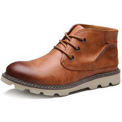 PU Casual Martin Boots for Men -