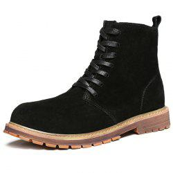 Suede High Martin Boots for Men -