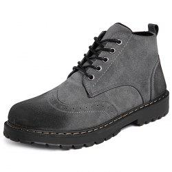 Fashionable Casual PU Boots for Men -