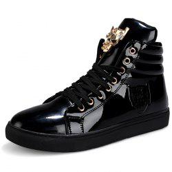 Stylish Metal Decoration Leisure Sneakers -