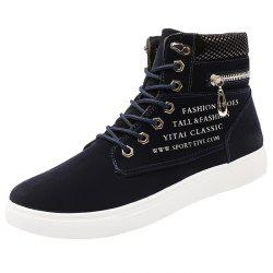 Fashion Letter Print Anti-slip Leisure Sneakers for Men -