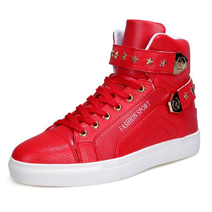 Fancy Casual Stylish High Top Shoes for Men