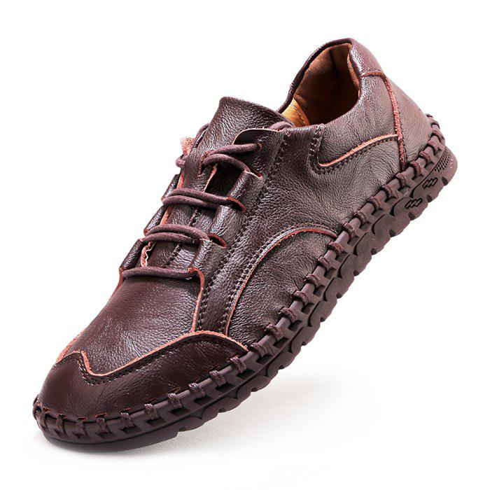 Store Casual Lace Up Leather Shoes for Men