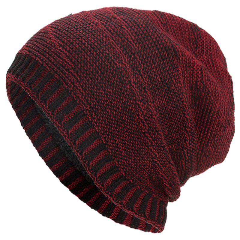 Fashion Warm Twill Solid Knitted Hat for Men