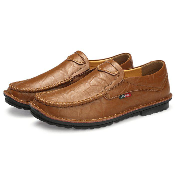 New Simple Design Leather Loafers for Men