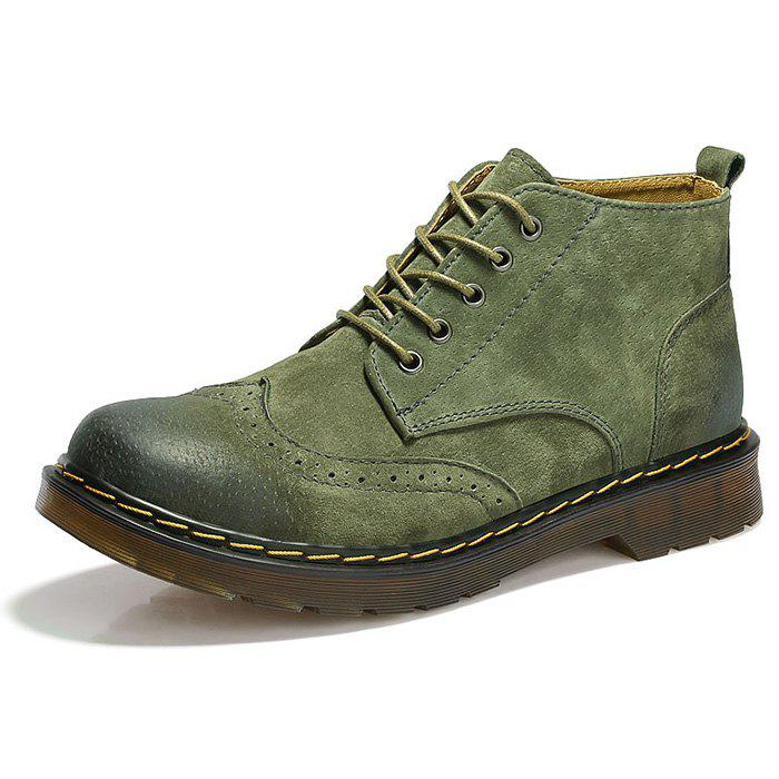 Sale Stylish Comfortable Durable Casual Leather Martin Boots for Men