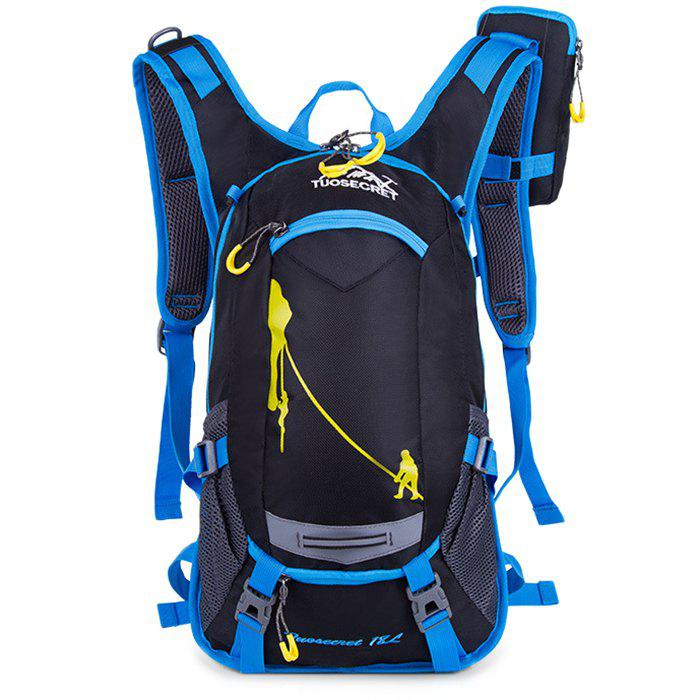 Affordable HUWAIJIANFENG Fashion Outdoor Breathable Water-resistant Cycling Backpack