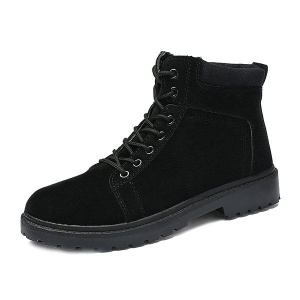 Fancy Autumn Winter Suede Martin Boots for Man