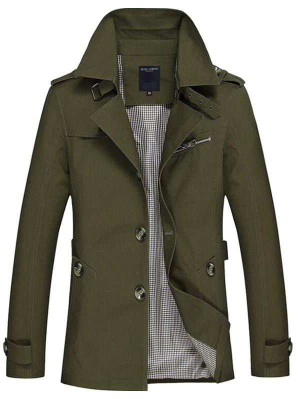 Trench Coat Leisure Men