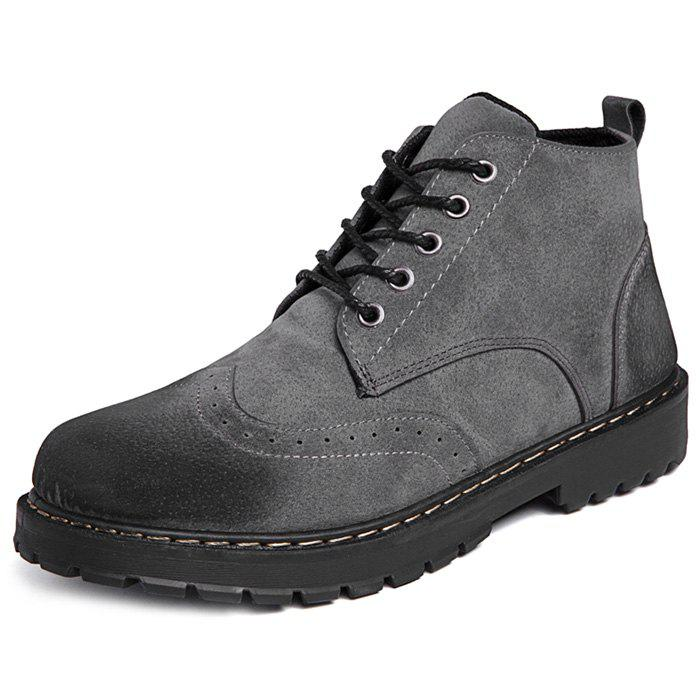 Outfit Fashionable Casual PU Boots for Men