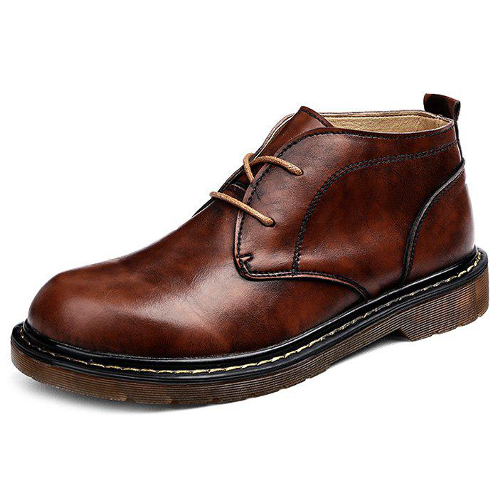 Shops Genuine Leather Casual Boots for Men