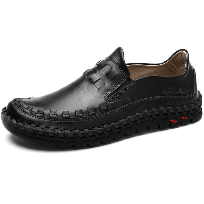 Slip-on respirant hommes chaussures plates Casual