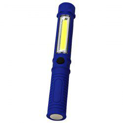 Portable Mini LED Multifunction Flashlight COB Hand Torch Lamp for Inspection / Maintenance -