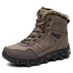 Stylish Warm Comfortable Classic Anti-slip Casual Snow Boots for Men -