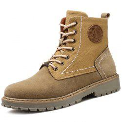 Flannel Outdoor High-top Martin Boots for Man -