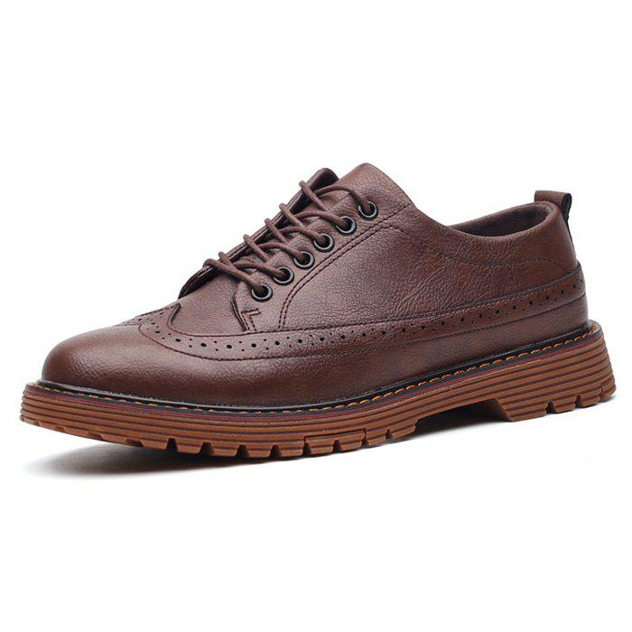 Outfits Stylish Leather Shoes for Men