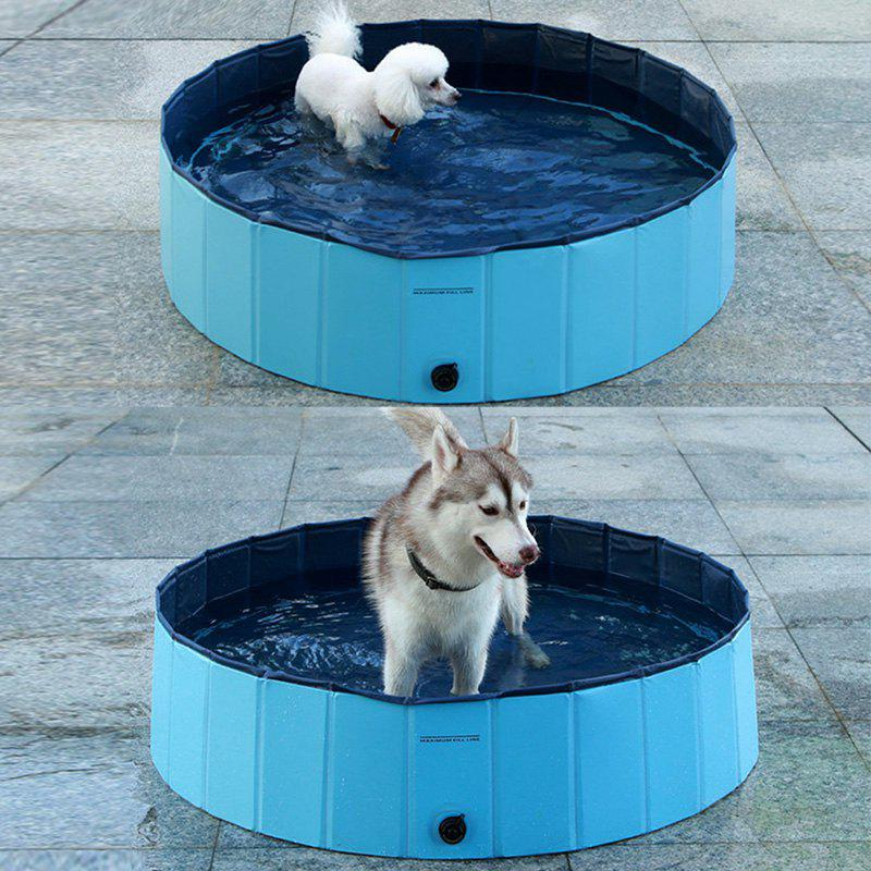 Pet Swimming Pool Bathtub Collapsible Puppy Bath Tub