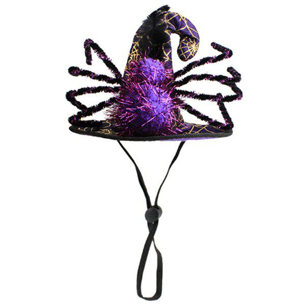 Store Spider Hat for Pet Cat Halloween Decoration