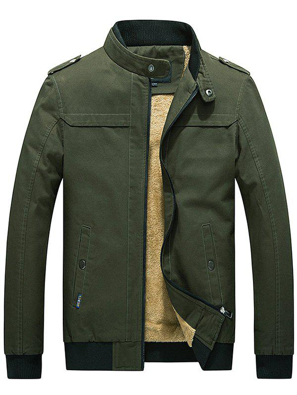 Fancy Fashionable Slim Fit Thick Warm Jacket