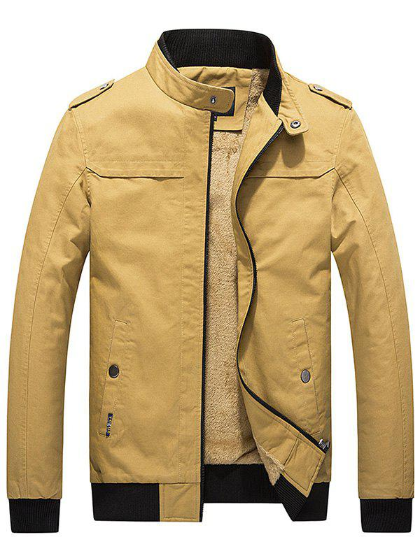 Outfit Fashionable Slim Fit Thick Warm Jacket