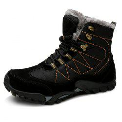 Outdoor Warm Comfortable Classic Lace-up Durable Snow Boots for Men -