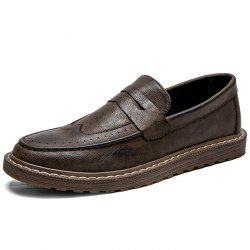 Fashionable Casual Microfiber Loafers for Men -
