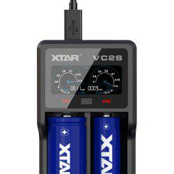Xtar VC2S Double-slot USB Battery Charger for Daily Use -
